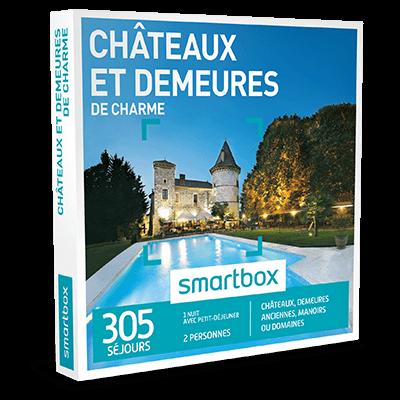 promotion Coffret Cadeau Châteaux et demeures de charme