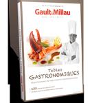 Coffret cadeau Tables gastronomiques