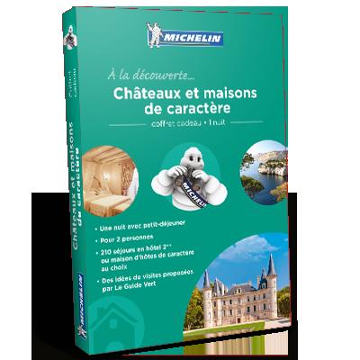 promotion Coffret Cadeau Châteaux et maisons de caractère