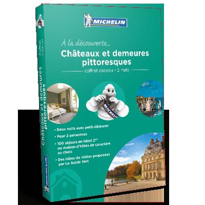 promotion Coffret Cadeau Châteaux et demeures pittoresques