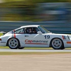 Pilotage de Porsche Carrera Cup