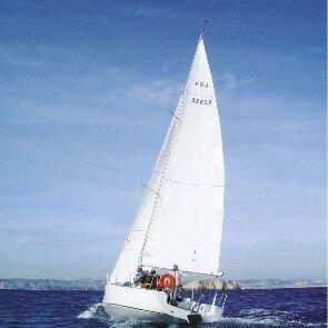 Navigation en voilier