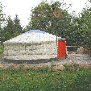 Camping Paysan de la Gilberdière : Berj'Yourte