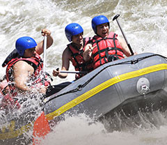Rafting et canyoning